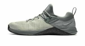 NEW Nike Metcon Flyknit 3 Training Shoes AQ8022-002 Mens Size 12 Cool Grey Black
