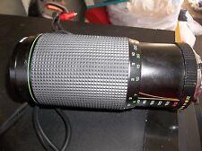 Hanimex Millenia Macro Auto Zoom UV Lens 70-210mm 1:38 Macro 58mm  LOOK!