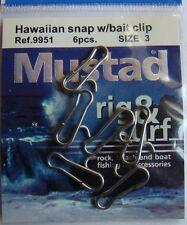Mustad Attache plomb et accroche appât pour surfcasting taille 3