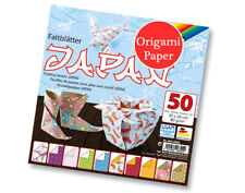 50 Sheets Square Japanese Print Origami Paper - 20cm | Origami Paper Packs