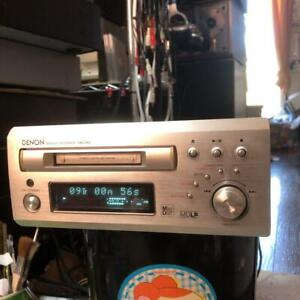 DENON DMD-M50 MD Mini Deck Player Recorder Used Good Working Japan Tested
