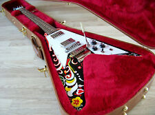 TPP Jimi Hendrix 67 Psychedelic Gibson USA Flying V Tribute with Maestro Tremolo