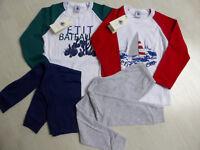 Schlafanzug, weiß/rot oder weiß/ grün, mit Motiv, von Petit Bateau. Neu!!!