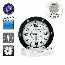 SPY Clock Camera/Audio Recorder with Sound/Motion Detector - Free P&P Worldwide!