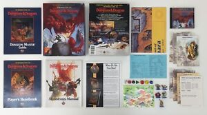 TSR INTRODUCTION TO ADVANCED DUNGEONS & DRAGONS BOX SET D&D INCOMPLETE (1995)