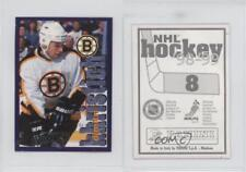 1998-99 Panini Album Stickers #8 Dimitri Khristich Boston Bruins Hockey Card