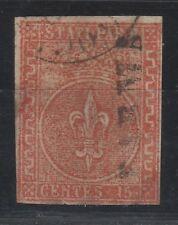 FRANCOBOLLI - 1853 PARMA C.15 VERMIGLIO Z/8686