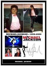 More details for 162. michael jackson  signed a4 photogragh reprint great gift+++++++++++++++++++