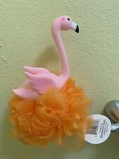 Flamingo Bird Shower Bath Loofah Pouf
