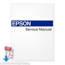 EPSON Stylus Pro 10000/10000CF/10600 Large Format Printer Service Manual