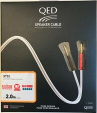QED Reference XT25 Speaker Cable (Factory Terminated 2.0m Pair)