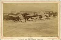 N. D. Algérie, Batna vintage albumen print, Algeria, vue générale prise de la Mo