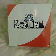 "REALISM ""THE MOST REALISTIC FAMILY MONEY GAME FOR THE 21st CENTURY"" BRAND NEW"