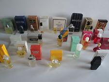 Collection de 20 Miniatures de parfum differentes (avec boites) - A voir!!!
