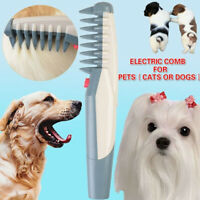 Dog Brush for Best Electric Cat Grooming Comb Tools Hair Pet Trimmer Clipper USA