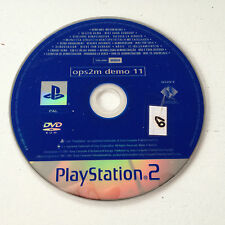 dvd Demo 11 OPS2M Playstation 2 Magazine SONY PS2 PAL FR