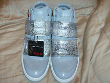 Sketchers Rise Fit LA STREET Athletic Shoes Womens GLITTER GRAY Sz 9 Pretty!