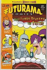 Futurama Comics #21 Bongo Comics Group 2005 (Australian Edition)