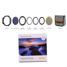 Nisi 100mm Filter Kit V6 Filter Holder & Ring + 10 Stop ND1000 3.0 Filter