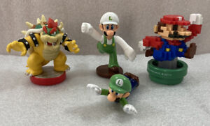 Mario Brothers Toys lot of 4 assorted figures Nintendo ...Bowser