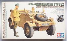 Tamiya German Kubelwagen Type 82 Africa Corps with Rommel 1/16 HARD TO FIND