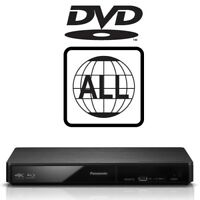 Panasonic DMP-BDT180EB 3D Smart DVD MultiRegion 4KUpscaling Blu-ray Player