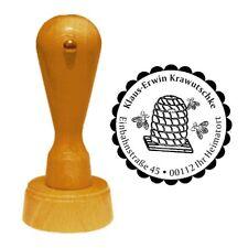 Stempel « BUCHBINDER » Adressenstempel Motiv Druckerei Papier