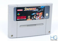 Starwing - Super Nintendo SNES Retro Game Cartridge PAL