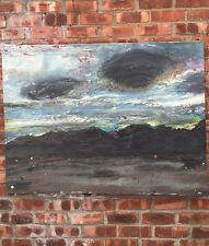Original Painting By New York Artist Freya Hansell. From Piezo Electric Gallery.