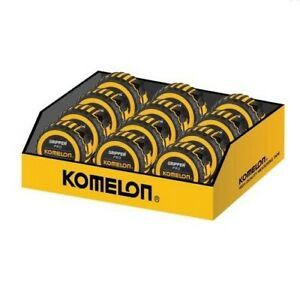 Komelon Gripper Tape Durable Nylon Coated blade Singles - 5m/16ft or 8m/26ft