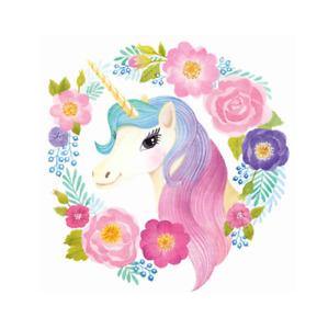 Unicorn -Nursery Girls Kids Room Wall Stickers/Home Decoration 28x28 CM