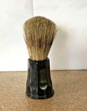 Vintage Opal Badger Hair Shaving Brush Pure Bristle 5 Set In Rubber