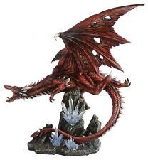 Drache fliegt Fels Drachen Gothic Dragon Figur Statue Skulptur Fantasy 770-0106