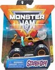 NIB Spin Master Monster Jam Scooby-Doo 1:64 Scale Truck Vehicle w/ Wristband Toy