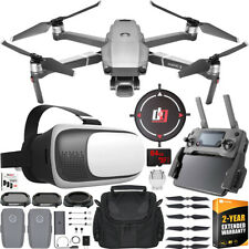 DJI Mavic 2 Pro Drone with Hasselblad Camera + 2x Battery FPV VR Headset Bundle