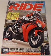 RIDE 7/13 2008-11 Fireblade, Adventure bikes test, KTM 390 Duke, Honda DCT test
