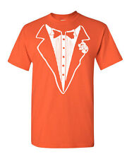 Tuxedo Funny T-Shirt Tux Bachelor Party Wedding Groom Tee Shirt