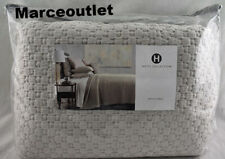 New ListingHotel Collection Speckle Full / Queen Quilted Coverlet Light Gray