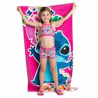 Lilo and Stitch Stitch Beach Towel Bath Towel 100% Cotton 150x74cm KIDS/ Adult