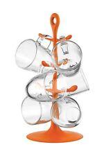 Bodum Tassenhalter COPENHAGEN mit 6 Gläsern 0,35 L Orange NEU! AK2110-XY-Y15-8