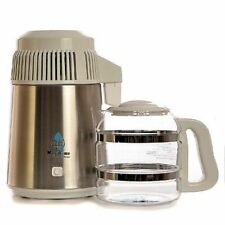 Megahome 316 Marine Grade Deluxe White Water Distiller With Glass Collection Jug