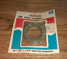 """Vintage Two Guys Slip Joint Washer For 1-1/2"""" X 1 1 1/4"""" waste Line Connections"""