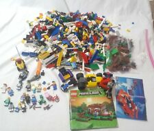 Lego 5 LBS Bulk Lot with Minifigures and instructions
