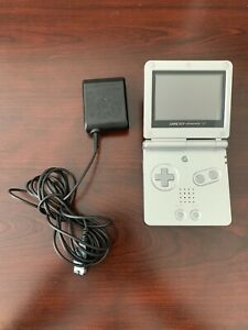 Nintendo Game Boy Advance SP AGS-101 FOR PARTS OR NOT WORKING + Charger