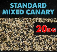 Canary Seed Food Standard Mixed with Linseed Hemp Niger 20KG BMFD DS