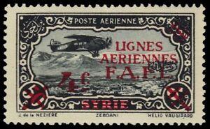 "SYRIA MC1 - Free French Administration ""Plane over Zebdani"" (pf32239)"