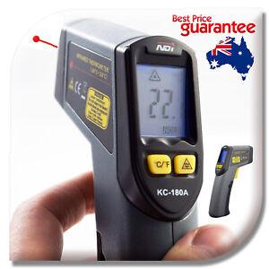 Non-Contact Infrared IR Thermometer Temperature Laser Gun Non-App Version 180A