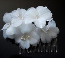 Brauthochzeits Haar-Kamm-Stoff  Hochzeit Haarkamm Steckkamm  Einsteckkamm Blumen