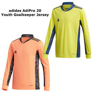 adidas AdiPro 20 Goalkeeper Long Sleeve Jersey Youth Boys Soccer Team Apparel