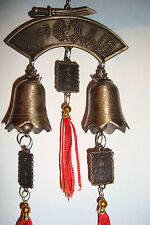 Chinese,Lucky Metal~Double~ Windchime~Bell~Hanging~010~Feng Shui ~uk seller~
